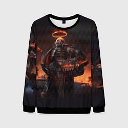 Свитшот мужской Легион проклятых цвета 3D-черный — фото 1