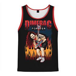 Майка-безрукавка мужская Pantera: Dimetag Forever цвета 3D-красный — фото 1