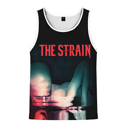 Майка-безрукавка мужская The Strain: Madness цвета 3D-белый — фото 1