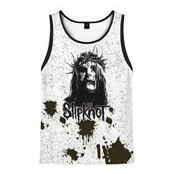 Майка-безрукавка мужская Slipknot Demon цвета 3D-черный — фото 1