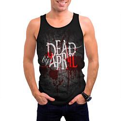 Майка-безрукавка мужская Dead by April цвета 3D-черный — фото 2