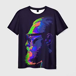 Мужская 3D-футболка с принтом McGregor Neon, цвет: 3D, артикул: 10102380503301 — фото 1