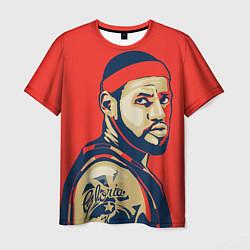 Футболка мужская LeBron James цвета 3D — фото 1