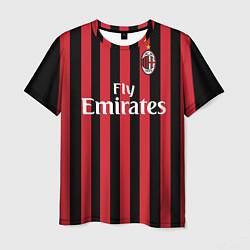 Футболка мужская Milan FC: Fly Emirates цвета 3D — фото 1