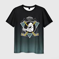 Футболка мужская Anaheim Ducks цвета 3D — фото 1