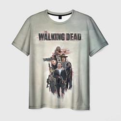 Мужская 3D-футболка с принтом Walking Dead, цвет: 3D, артикул: 10110331403301 — фото 1