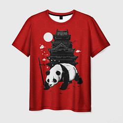 Футболка мужская Panda Warrior цвета 3D — фото 1