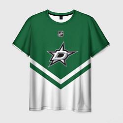 Футболка мужская NHL: Dallas Stars цвета 3D — фото 1