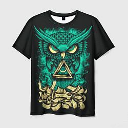 Мужская 3D-футболка с принтом Bring Me The Horizon: Owl, цвет: 3D, артикул: 10112869703301 — фото 1