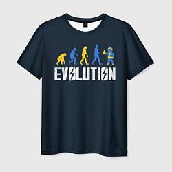 Футболка мужская Vault Evolution цвета 3D-принт — фото 1