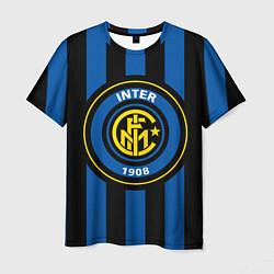 Футболка мужская Inter FC 1908 цвета 3D — фото 1
