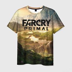 Футболка мужская Far Cry: Primal цвета 3D-принт — фото 1