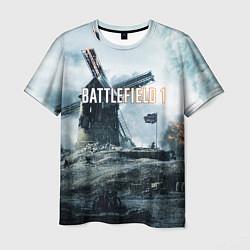 Футболка мужская Battlefield 1 цвета 3D-принт — фото 1
