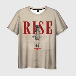 Мужская 3D-футболка с принтом Skillet: Rise, цвет: 3D, артикул: 10119938603301 — фото 1