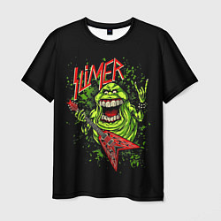Футболка мужская Slayer Slimer цвета 3D — фото 1