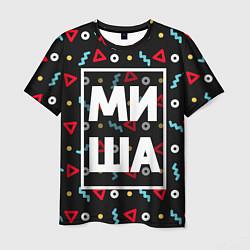 Мужская футболка Миша