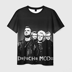 Футболка мужская Depeche Mode: mono цвета 3D-принт — фото 1