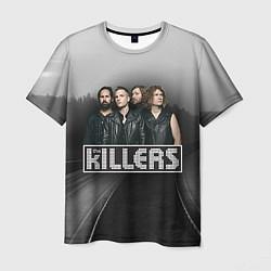 Футболка мужская The Killers цвета 3D-принт — фото 1