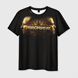 Футболка мужская Prison break цвета 3D — фото 1