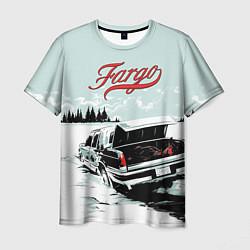 Футболка мужская Fargo Car цвета 3D — фото 1