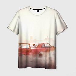 Футболка мужская NFS: Payback Red Car цвета 3D — фото 1