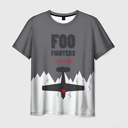 Футболка мужская Foo Fighters: Learn to fly цвета 3D — фото 1