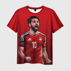 Футболка мужская Мохамед Салах цвета 3D-принт — фото 1