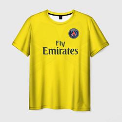 Футболка мужская PSG FC: Neymar Away 17/18 цвета 3D — фото 1