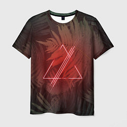 Футболка мужская Neon Light цвета 3D — фото 1