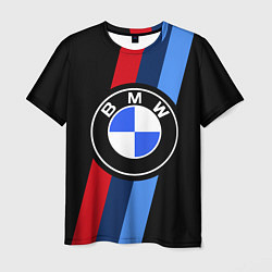Мужская футболка BMW M: Black Sport