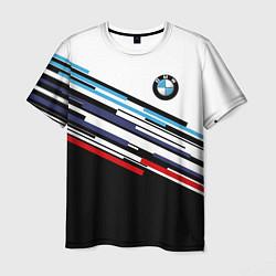 Футболка мужская BMW BRAND COLOR цвета 3D — фото 1