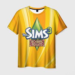 Футболка мужская The Sims: Roaring Heights цвета 3D — фото 1
