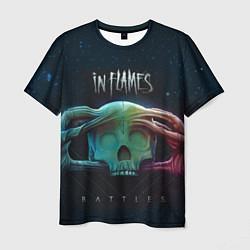 Футболка мужская In Flames: Battles цвета 3D-принт — фото 1