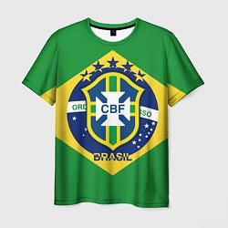 Футболка мужская CBF Brazil цвета 3D — фото 1