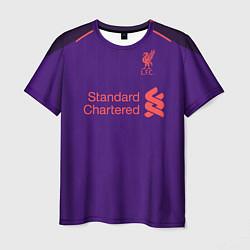 Футболка мужская FC Liverpool: Salah Away 18/19 цвета 3D-принт — фото 1