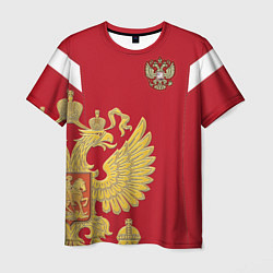 Футболка мужская Сборная России: эксклюзив цвета 3D-принт — фото 1
