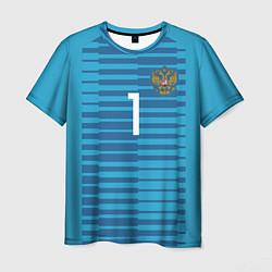 Футболка мужская Акинфеев гостевая ЧМ-2018 цвета 3D — фото 1