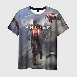 Мужская 3D-футболка с принтом ANTHEM, цвет: 3D, артикул: 10156077903301 — фото 1