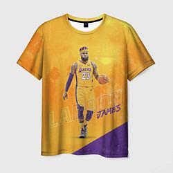 Мужская 3D-футболка с принтом LeBron James: NBA Star, цвет: 3D, артикул: 10158594903301 — фото 1