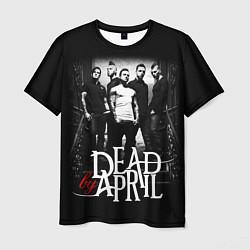 Футболка мужская Dead by April: Dark Rock цвета 3D-принт — фото 1