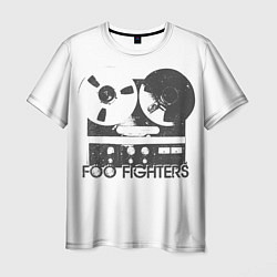Мужская 3D-футболка с принтом Foo Fighters: Retro Tape, цвет: 3D, артикул: 10172132903301 — фото 1