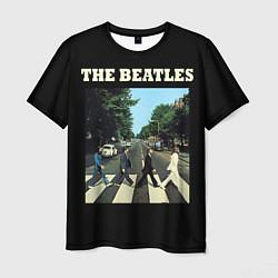 Футболка мужская The Beatles: Abbey Road цвета 3D-принт — фото 1