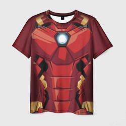 Мужская 3D-футболка с принтом Iron Man Costume, цвет: 3D, артикул: 10179932103301 — фото 1