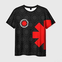 Футболка мужская RED HOT CHILI PEPPERS цвета 3D-принт — фото 1