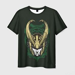 Футболка мужская Loki цвета 3D-принт — фото 1