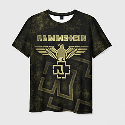 Футболка мужская Rammstein цвета 3D — фото 1