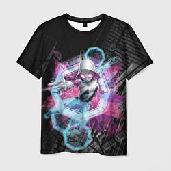 Мужская 3D-футболка с принтом Spider-Woman through time, цвет: 3D, артикул: 10184519103301 — фото 1