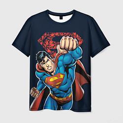 Футболка мужская Superman цвета 3D — фото 1