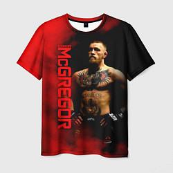 Мужская 3D-футболка с принтом Конор МакГрегор, цвет: 3D, артикул: 10203981303301 — фото 1