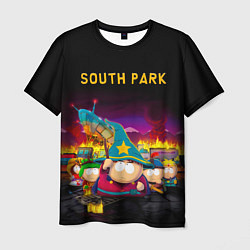 Футболка мужская Южный Парк цвета 3D — фото 1